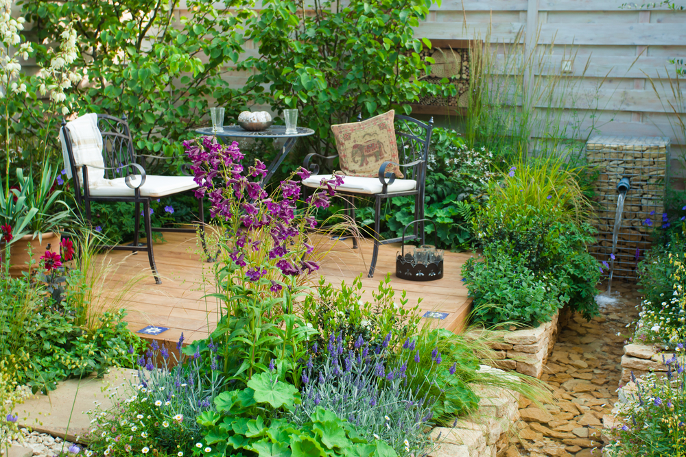 aménager jardin etape