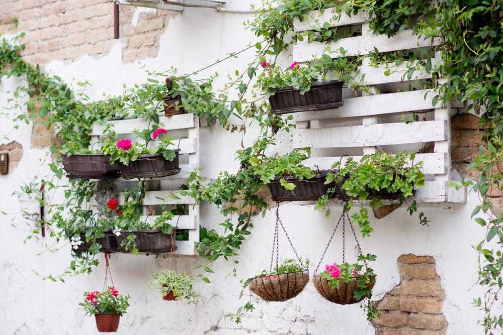 etagere bois jardin